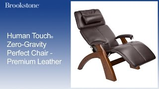 Human Touch® Zero-Gravity Perfect Chair - Premium Leather