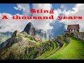 Sting A Thousand Years Prevod Na Srpski mp3