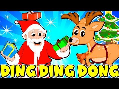 Lagu Kanak Kanak Melayu Malaysia - Jingle Bells Ding Dong Christmas Rhyme in Malay - Lagu Natal Anak
