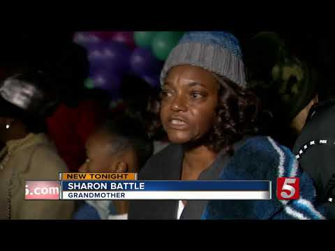 Vigil Held To Remember 2 Young Girls Killed In Shooting