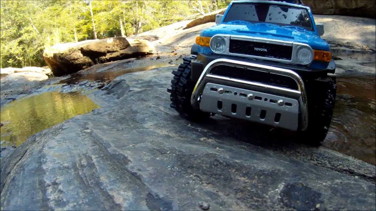 Tamiya Toyota Fj Cruiser Modified Cc 01 Chassis Rc 4x4