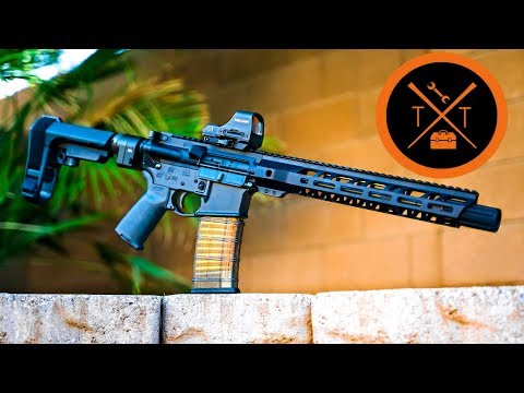 AR 15 Build 2018  STOOPID Cheap