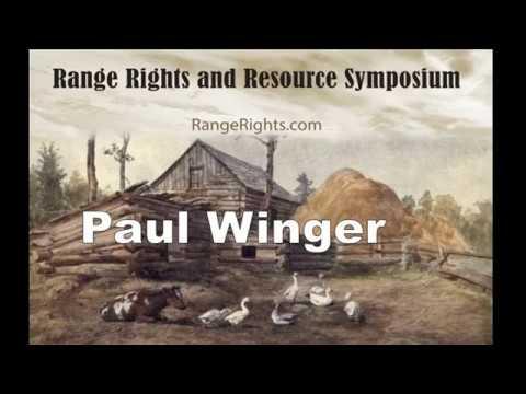 Paul Winger   Former President of California Farm Bureau
