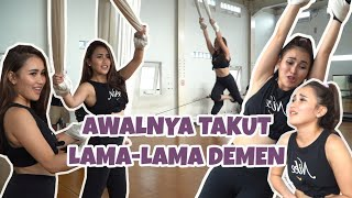 ROAD TO KONSER SUARA HATI AYU TINGTING - AYU TINGTING DITARIK PAKE SLING?!