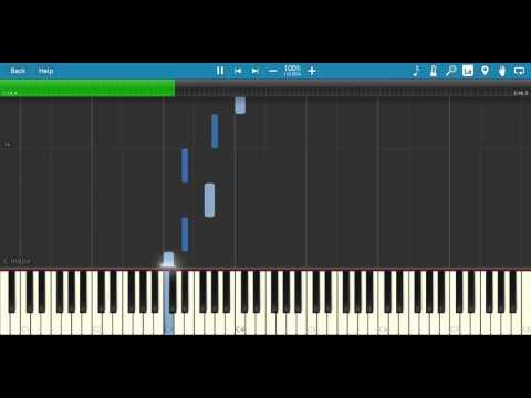Band Of Horses  The Funeral Synthesia Tutorial