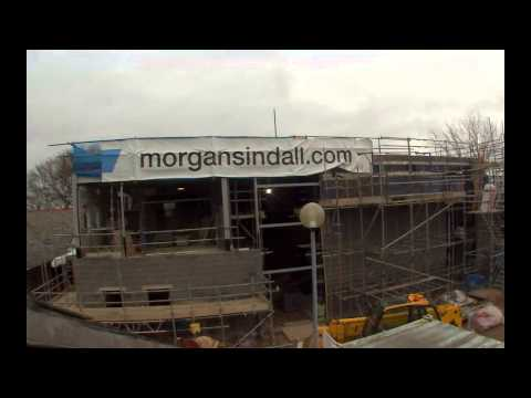 Time lapse video of the building of the new build at Montrose School in Leicester