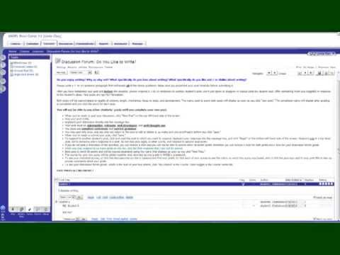 Creating Interactive Discussion Forums