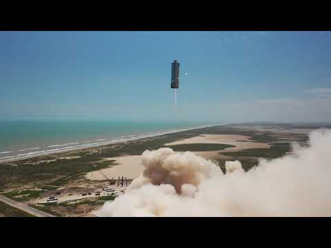 Starship SN6 150m Flight Test