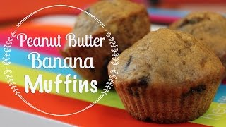 Baking With My Subs | Peanut Butter Banana Muffins