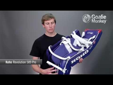 Koho Revolution 589 Pro Goalie Leg Pads