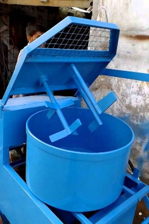 Laboratory Concrete Pan Mixer Hardic Engineering Youtube