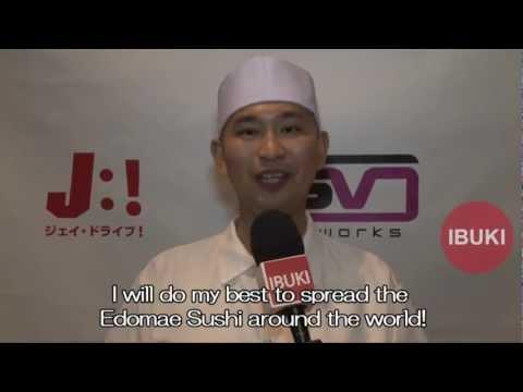 [IBUKI TV] Interview with Chef Daisuke Nakazawa from Shiro's sushi restaurant