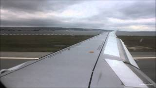 Air France Airbus A319 (F-GRHI) Takeoff from Marseille Provence | AF4302