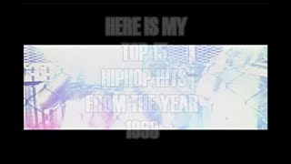 TOP15 OF REAL HIPHOP HITS - From the year 1999