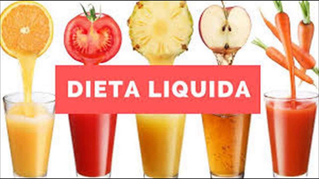 Entenda Como Funciona Dieta Liquida - YouTube