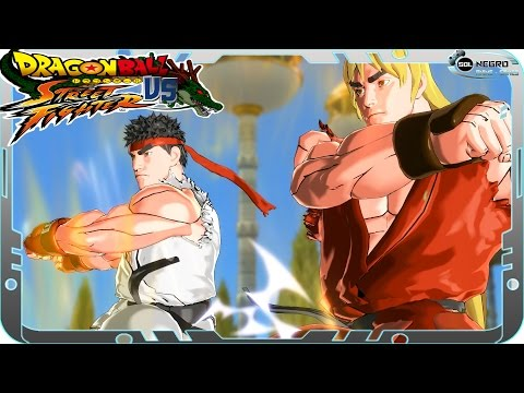 Fusion Ryu And Ken VS Gogeta - Dragon Ball VS Street Fighter - Part 2 - Dragon Ball Xenoverse Mod