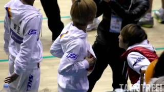 [fancam] 110123 SHINee Taemin teaches Lucifer & learns Stay by MBLAQ @ Idol Championships