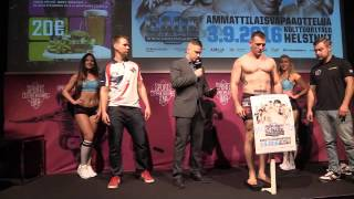 Cage 36 Weigh-in Video