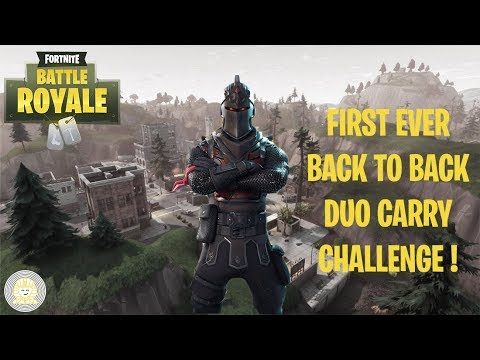 First EVER Random duo carry back to back challenge!