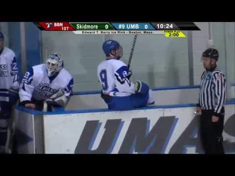 UMass Boston Men's Hockey Vs.Skidmore College (12/1/18) Webcast