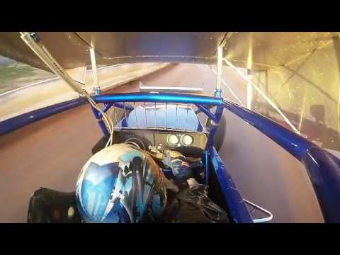 Tyler Walker In Car Camera at Port Royal Speedway