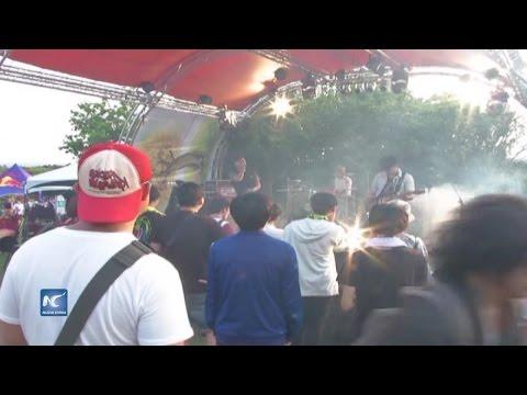 Enciende festival de música a jóvenes taiwaneses