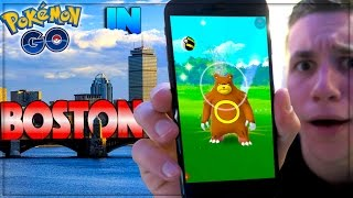 What is Pokemon GO like in Boston? (Generation 2)