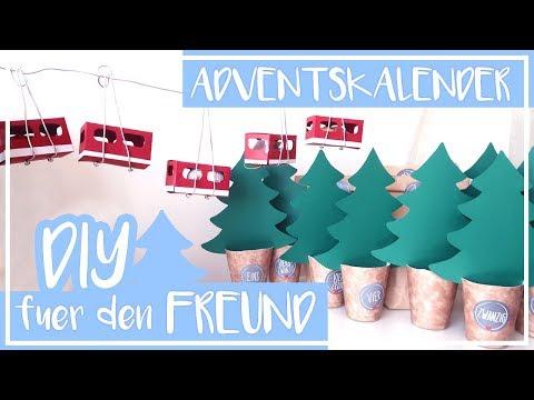Adventskalender für den Freund - DIY | Basteln | selber machen