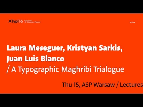 A Typographic Maghribi Trialogue
