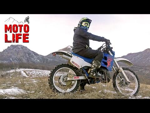 Эндуро покатушки на Suzuki TS200R | Объезжаем Буцефала [Moto Life]