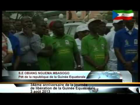 AFRIQUEMEDIA production  DISCOURS OBIANG ANNIVERSAIRE FRANCAIS 03    08 2013