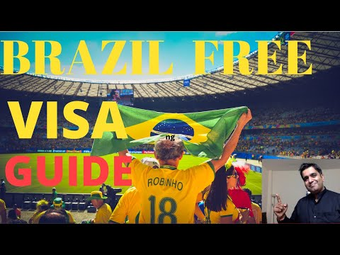 Brazil FREE Visa For India Citizens | Application Process, Documents And Appointment  - हिंदी में