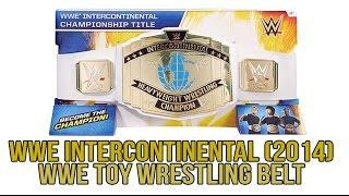 WWE FIGURE INSIDER: WWE Intercontinental Championship (2014) - WWE Toy Wrestling Belt from Mattel