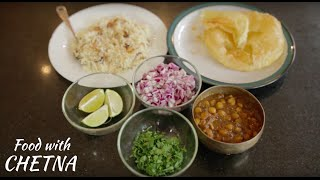 How to make Indian style Chana Masala or Chole Bhature- Food with Chetna