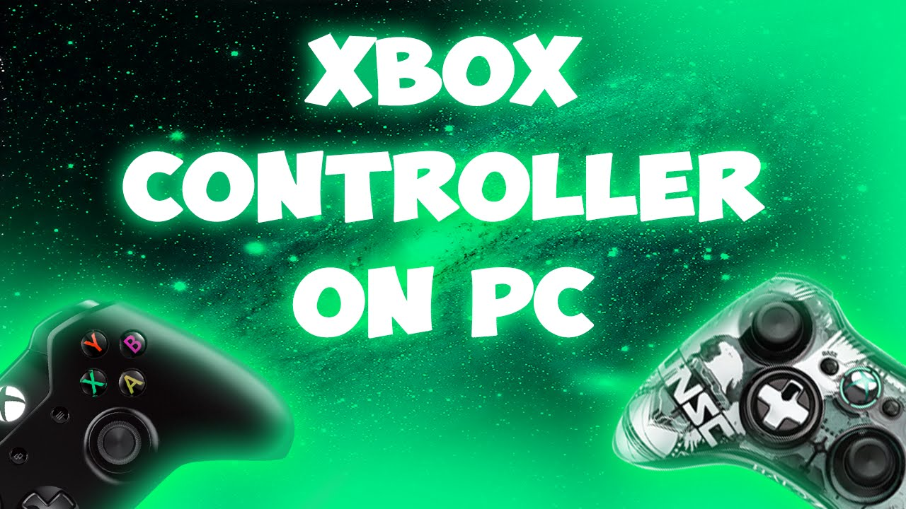 how to get an xbox controller to work on pc