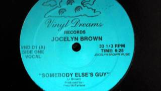 Jocelyn Brown - Somebody Else´s Guy Original 12 inch Versio...