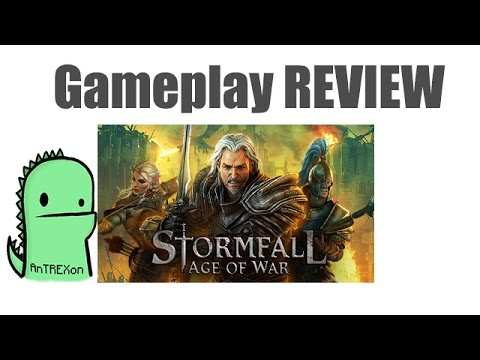 Stormfall Age of War - browser MMORTS - gameplay review (2015)