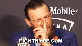 """SKEPTICAL"" MCGREGOR REACTS TO KAMARU USMAN ""HACKED"" TWITTER ACCOUNT; ACCUSES MANAGER ABDELAZIZ"