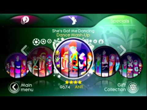 Just Dance 3 - Menu - Song List - Target Edition - Mashups & DLC Store