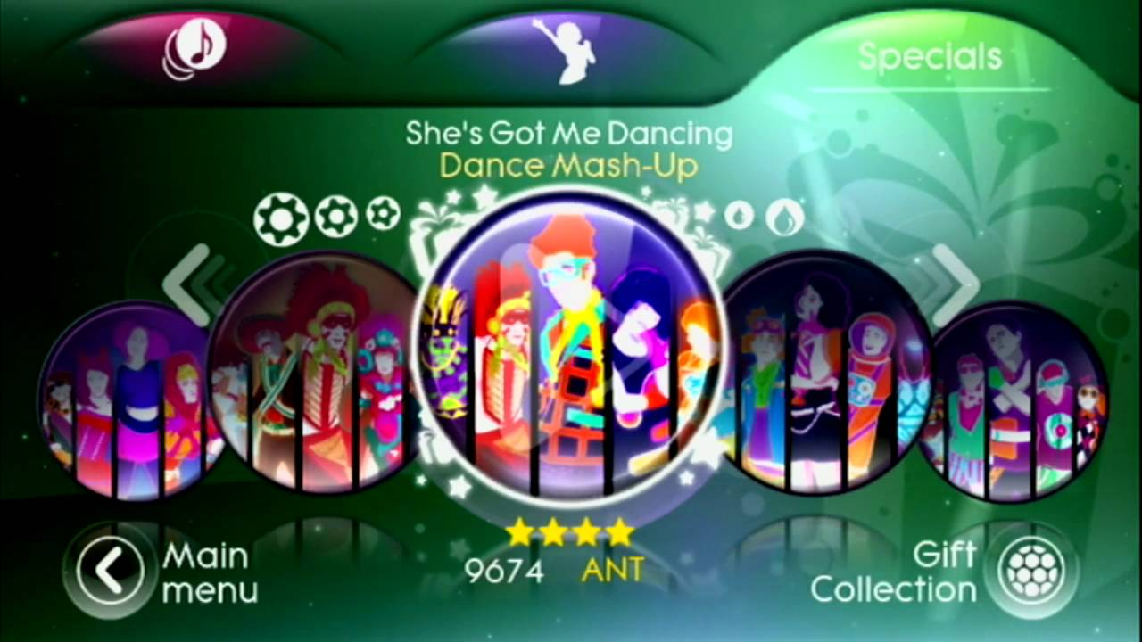 Just Dance 3 Menu Song List Target Edition Mashups Dlc Store Youtube