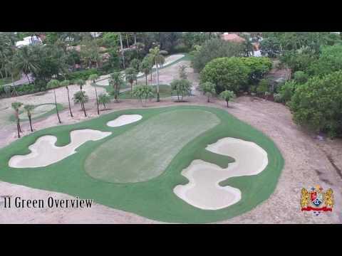 La Gorce Golf Course Restoration Week 10 Video