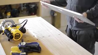 Wall Cabinet; shop sawn veneer on sliding doors 2
