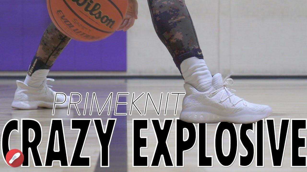 Adidas Crazy Explosive Low Primeknit Performance Review!