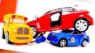 Speedy y Bussy - AUDI A1 - Coches - Coches de carreras para niños - Carritos - Autos para niños
