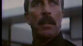 Tom Selleck in Runaway 1984 TV trailer