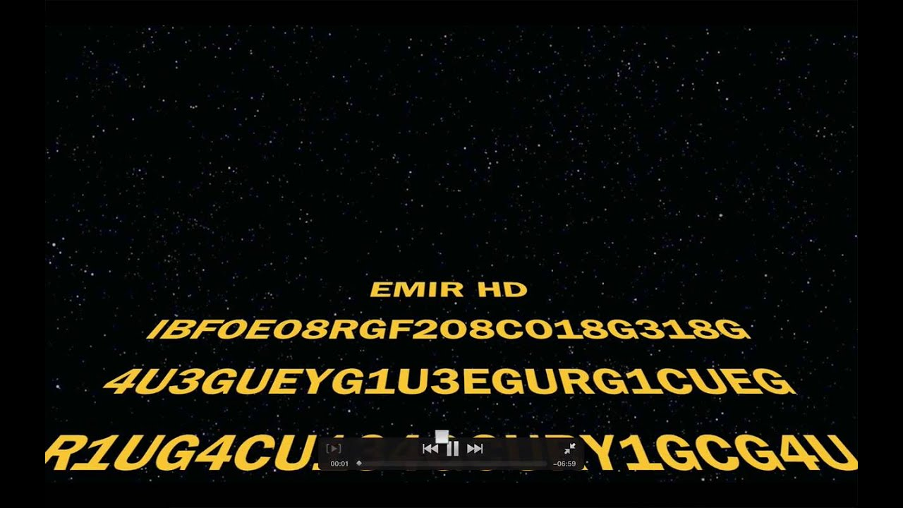 How to make a star wars opening crawl in İMovie!