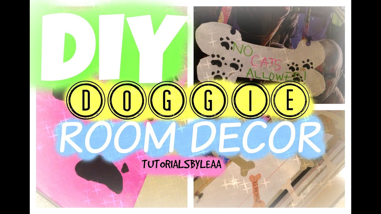 DIY DOG INSPIRED ROOM DECOR - YouTube