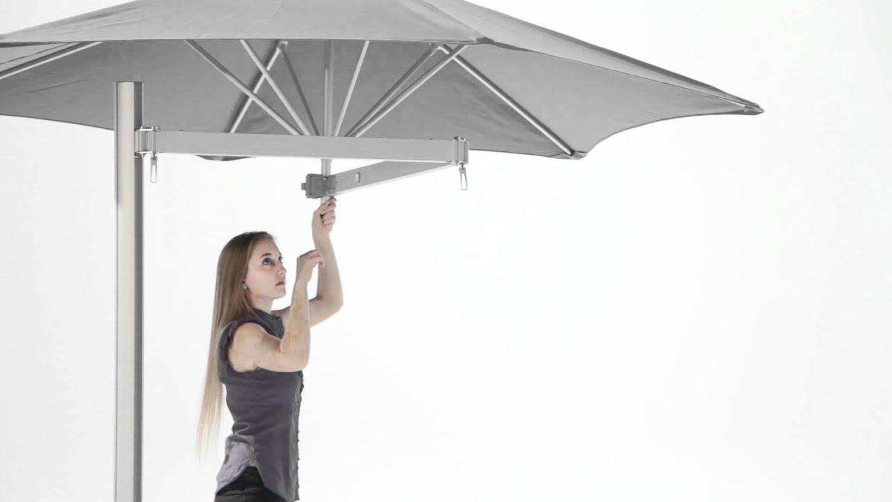 paraflex side mounted umbrella