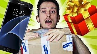 MI HANNO REGALATO UN TELEFONO IN ANTEPRIMA!!! (Samsung Galaxy S7 Edge) + Realtà Virtuale