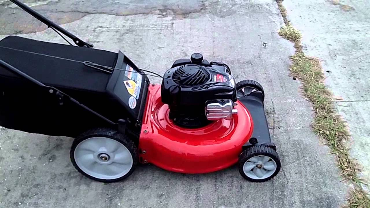 Yard Machines By Mtd 21 Quot Mower 11a B13l029 Running Youtube